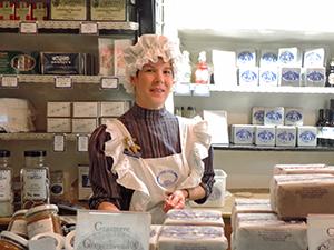 clerk in a shop
