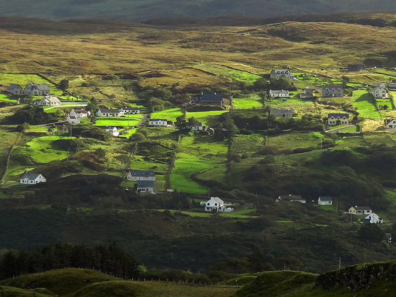 a valley in Ireland