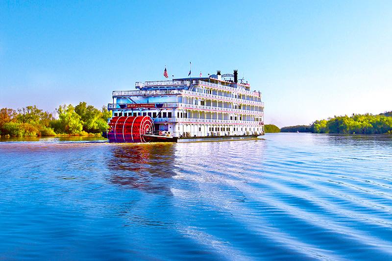 A Mississippi river boat
