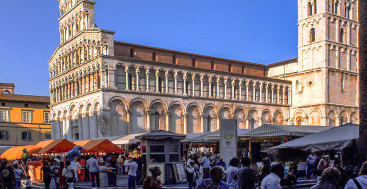 Lucca, Italy – In Search of a Meal, I Discovered A Feast
