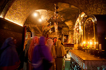 a relisious shrine in Jerusalem