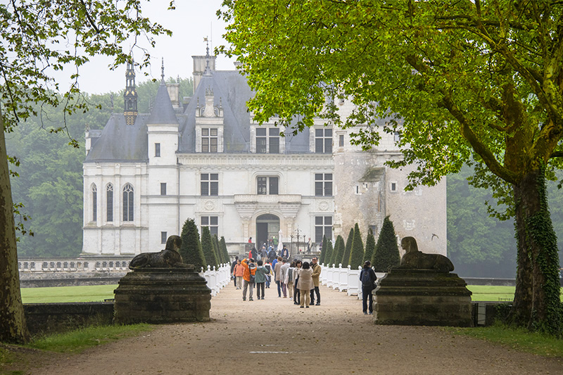 A chateau in the Loire, one of the places to visit in France