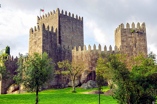 a castle in Portugal