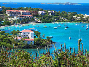 condos on a Caribbean Island