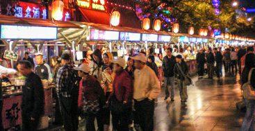 The Night Food Market in Beijing