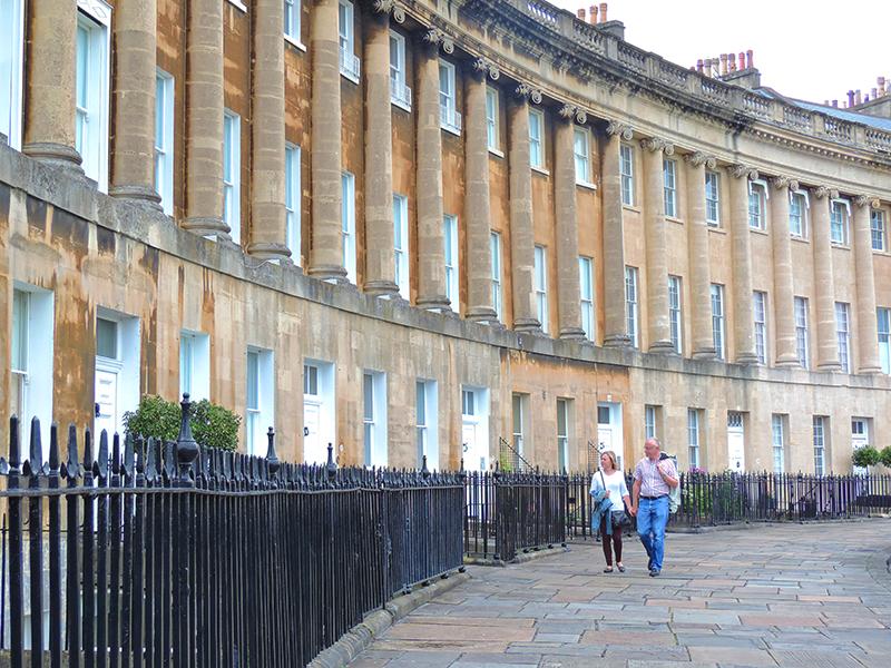 Georgian buildings in England