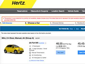 Hertz Rental Car Return Charles De Gaulle Airport