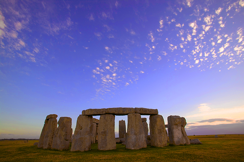 and cient stone monuments in England