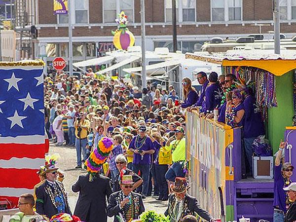 Mardi Gras in Biloxi, Mississippi
