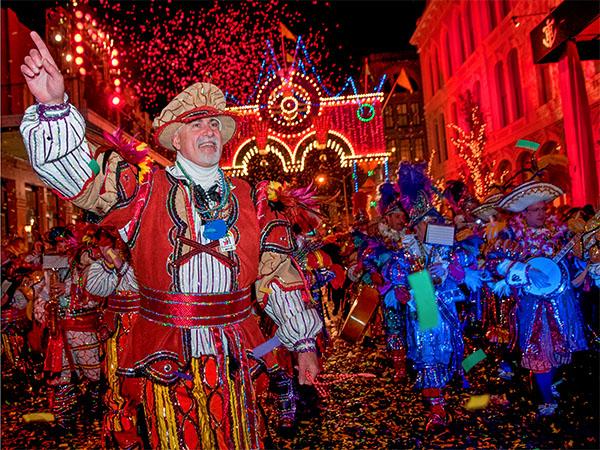 Mardi Gras in Galveston, Texas