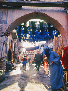 a street in an Arab town - best places to travel