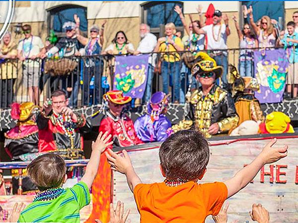 Mardi Gras in Pensicola, Florida