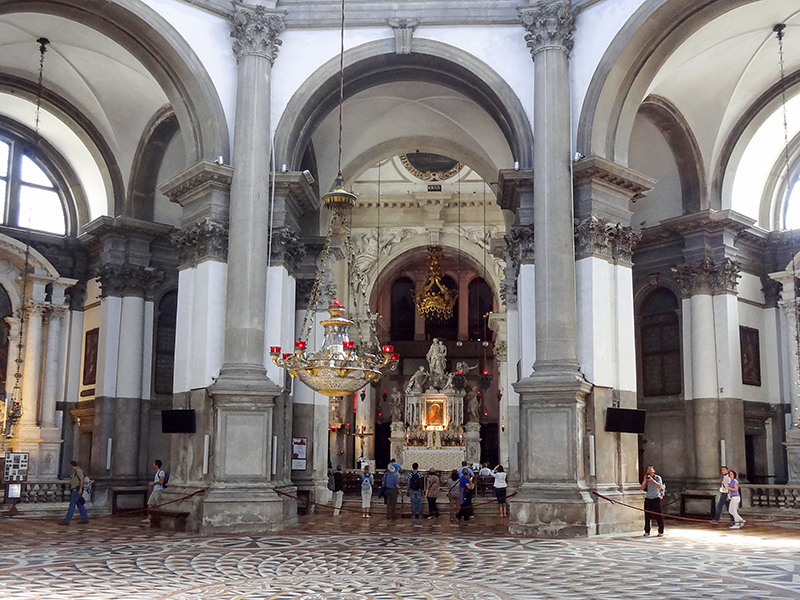 an old church in Venice, Italy