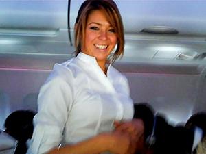 a flight attendant - save airfare