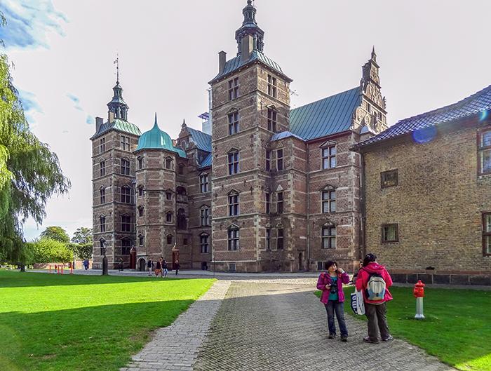 a palace in Copenhagen, Denmark