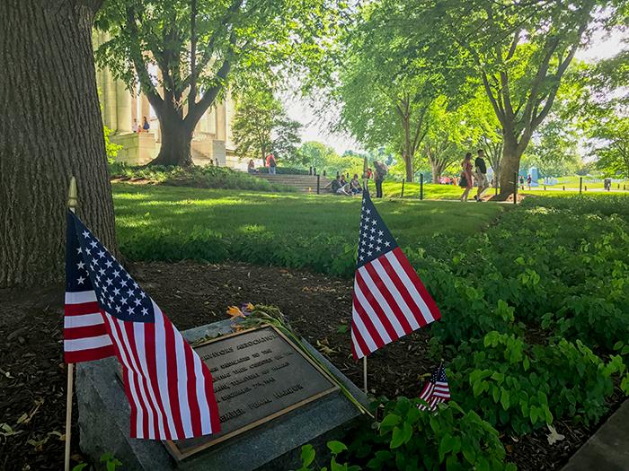 a cemetery in Washington