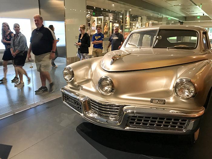 a car ina museum in Washington
