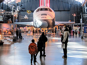 the Air and Space Museum in Washington