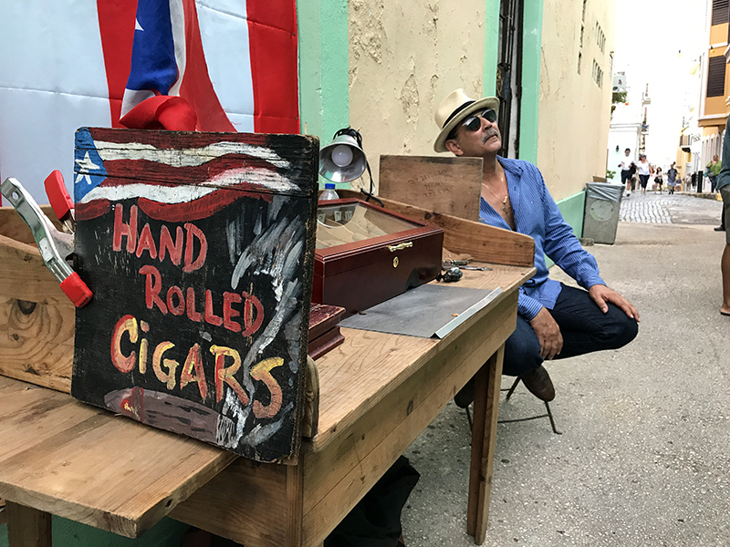 a cigar-maker in San Juan