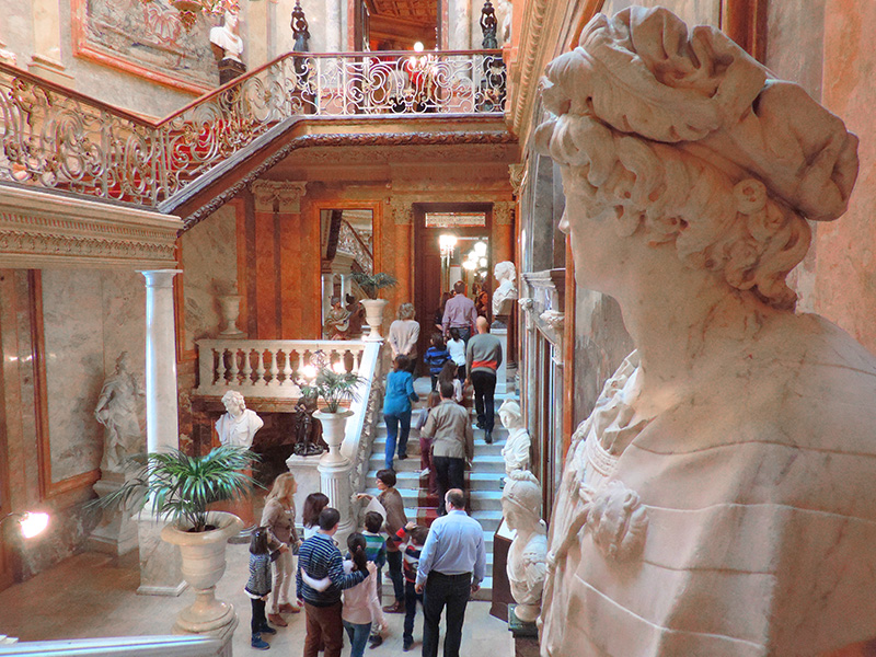 people in Museo Cerralbo, one of the top places to visit in Madrid