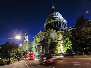 a church at night Budget Travel Tips