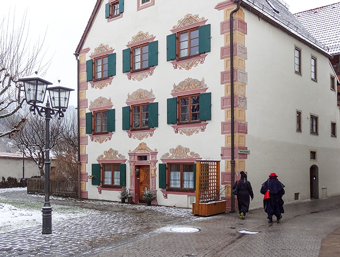 an old house in Bavaria