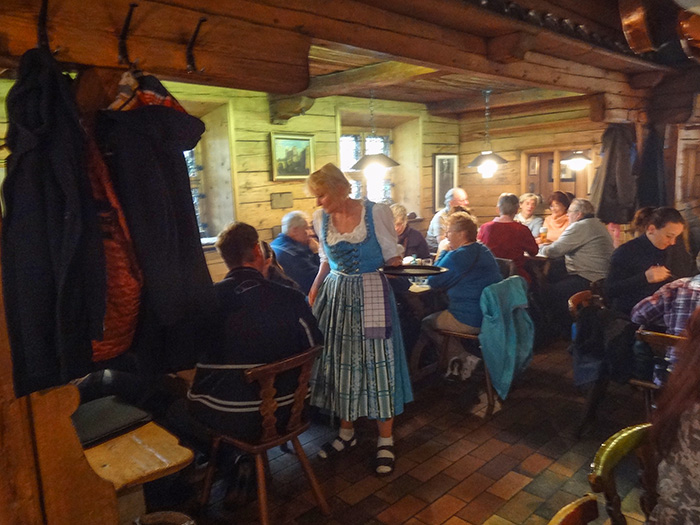 a restaurant in Bavaria