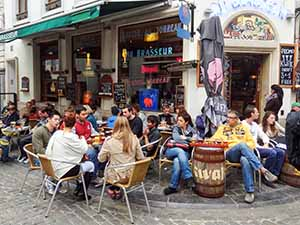 cafe in Brussels