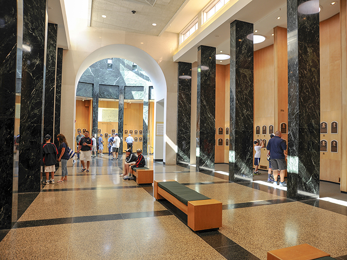 a museum in Cooperstown