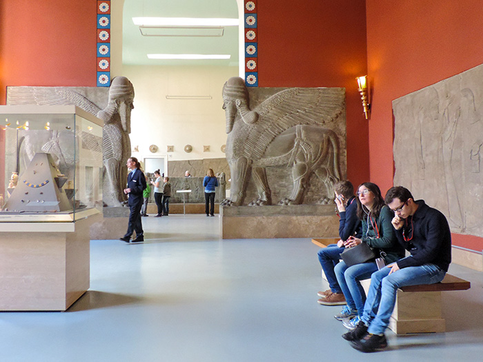 people visiting the Pergamon Museum, one of The Best Things To Do In Berlin, Germany