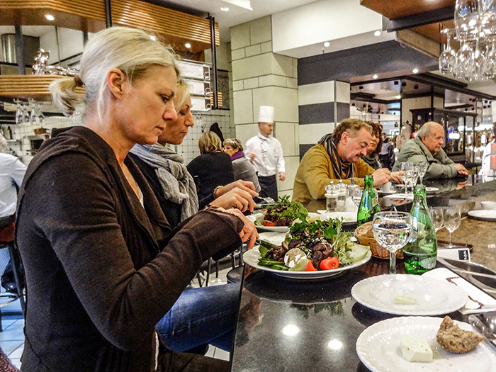 people dining at KaDeWe, one ofThe Best Things To Do In Berlin, Germany