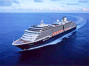 a cruise ship in a survey of the best cruises