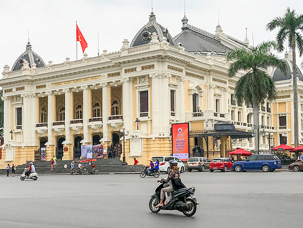 an old opera house - best city in Vietnam