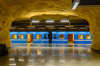 Stockholm's Underground Art