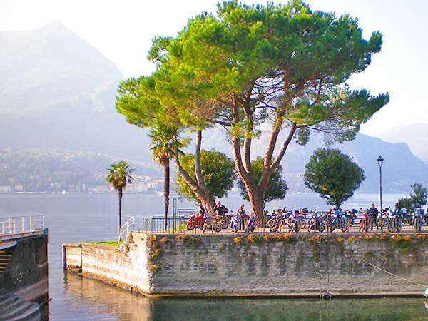 people sitting by a lake top 10 in Italy