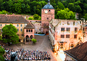a music concert in Heidelberg