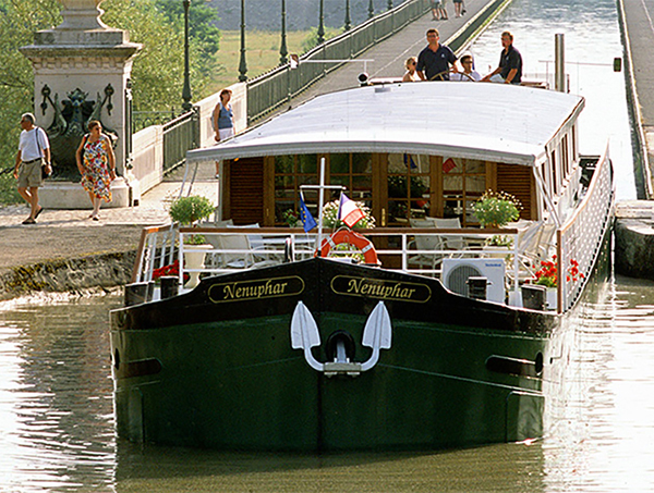 barge on a canal Barging in Europe