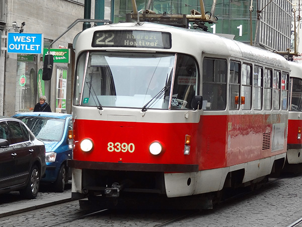 a red trolley - berlin to prague train