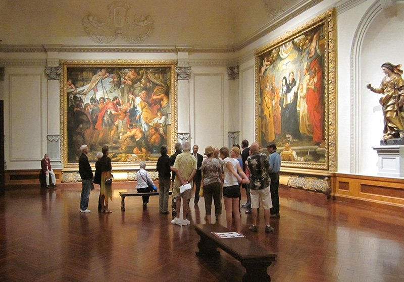 people in the John and Mable Ringling Museum of Art - ringling museum