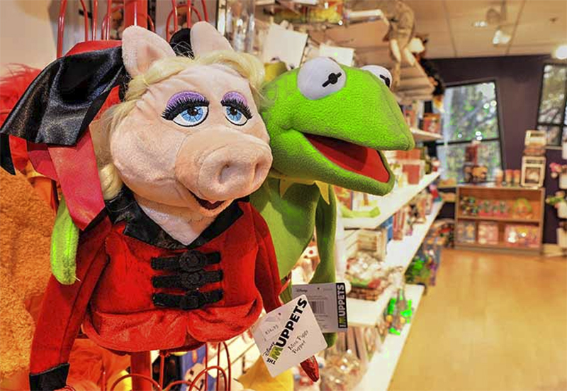 The Muppet puppets