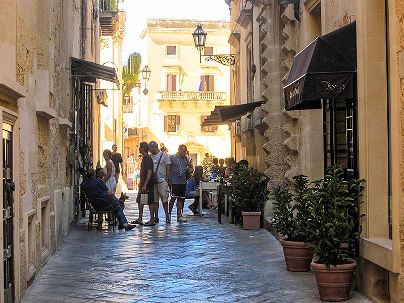 late afternoon in Lecce, Puglia