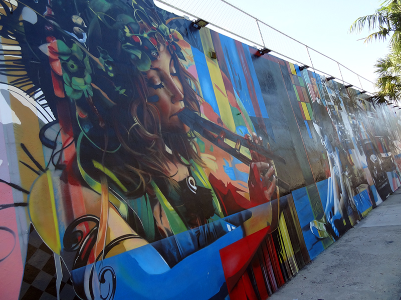 street art in the Wynwood Art District