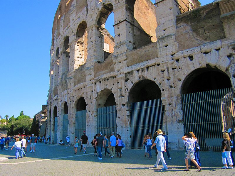 The Colosseum, a must see place in Rome