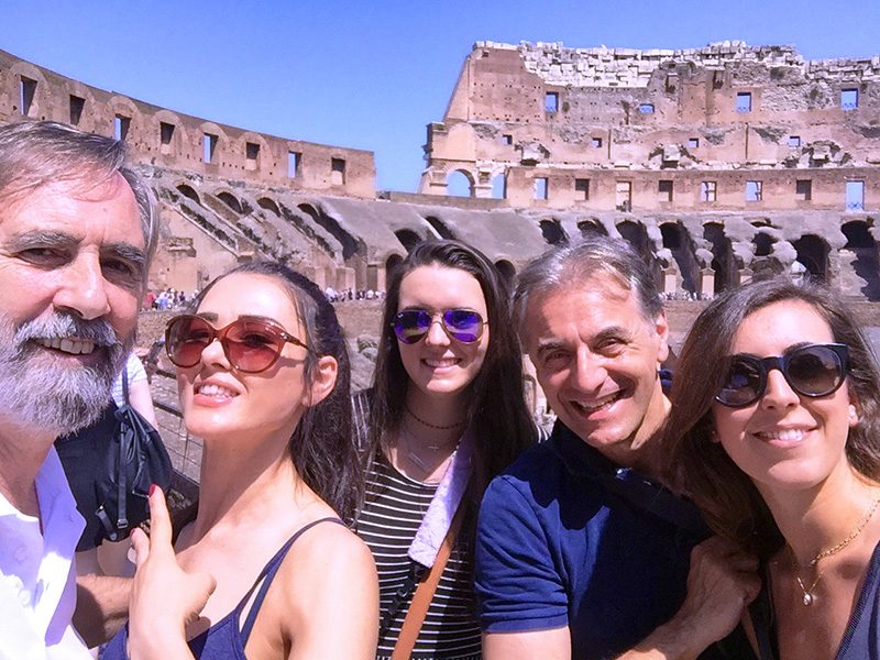 The coloseum, a must-see place in Rome