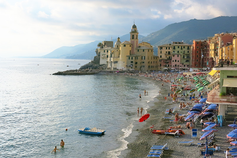 a town in Italy that's a good destination for wellness travel