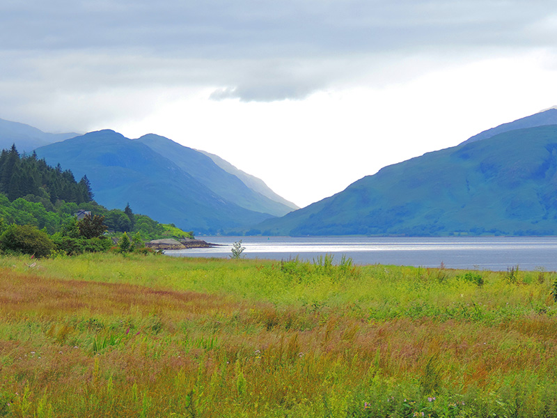 a beautiful glen in Scotland that's a good place to recharge your batteries
