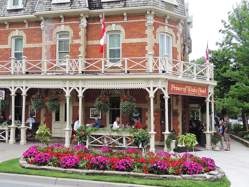 The Prince of Wales Hotel in Niagara-on-the-Lake