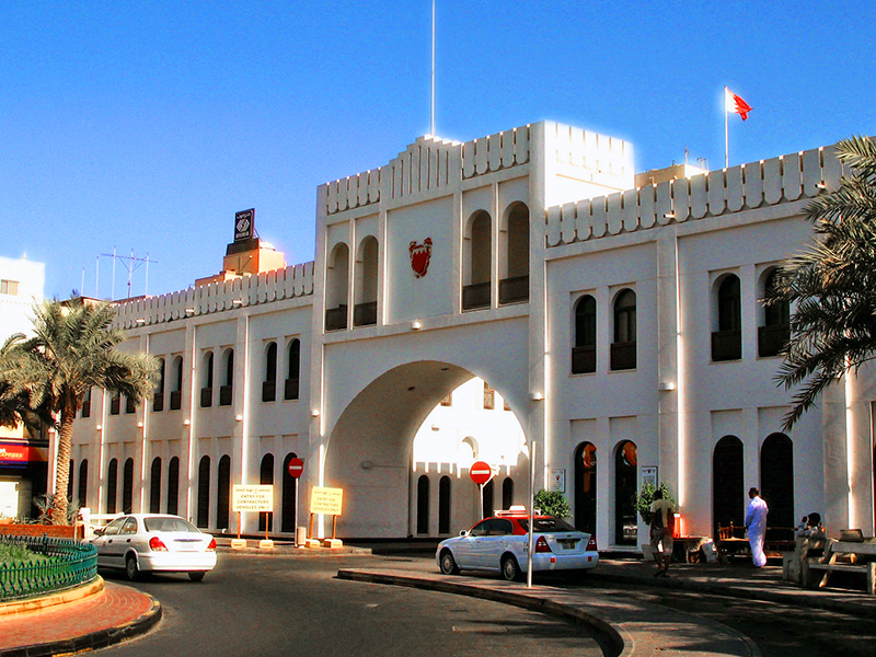 visiting a historic building - one of the things to do in Bahrain
